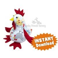 Chook/Chicken INSTANT DOWNLOAD Sewing Pattern PDF