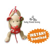 MOUSE Christmas Decoration Sewing Pattern