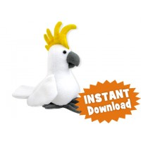 Charlie Cockatoo INSTANT DOWNLOAD Sewing Pattern PDF