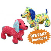 Dachshund toy pattern dog