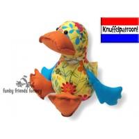 Dilby Duck Knuffelpatroon PDF