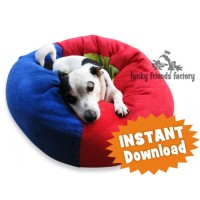 Cat and Dog Fleece Bed Sewing Pattern