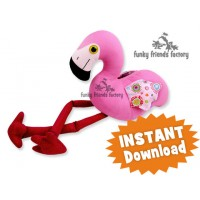 Flamingo INSTANT DOWNLOAD Sewing Pattern PDF