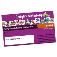 Funky Friends Factory Gift Voucher