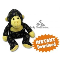 gorilla pattern sewing pattern