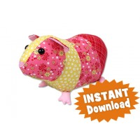 Gertrude Guinea Pig INSTANT DOWNLOAD Sewing Pattern