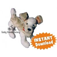 Jake the Puppy INSTANT DOWNLOAD Sewing Pattern PDF