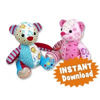 Melody Bear Keepsake Toy Bear Pattern
