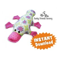 Plattie Platypus Soft Toy Sewing Pattern INSTANT DOWNLOAD