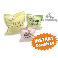 POST-IT Note INSTANT DOWNLOAD Sewing Pattern