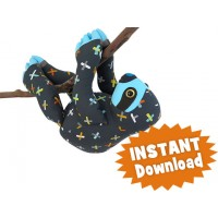 SLOTH INSTANT DOWNLOAD Sewing Pattern PDF