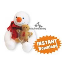 Slush the Snowman CHRISTMAS INSTANT DOWNLOAD