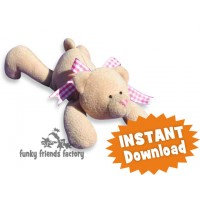 Honey the Easy Teddy INSTANT DOWNLOAD