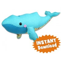 Whale stuffed animal Pattern