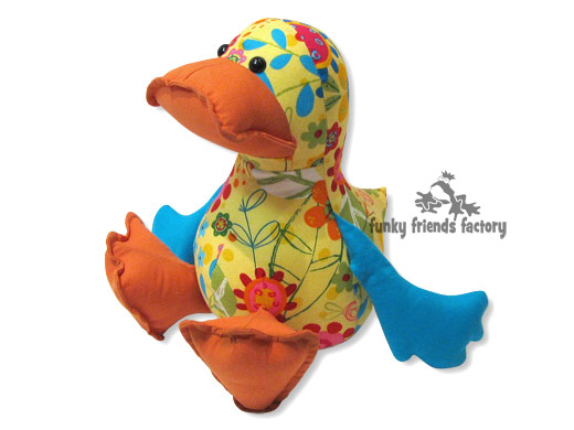 sew a duck softie