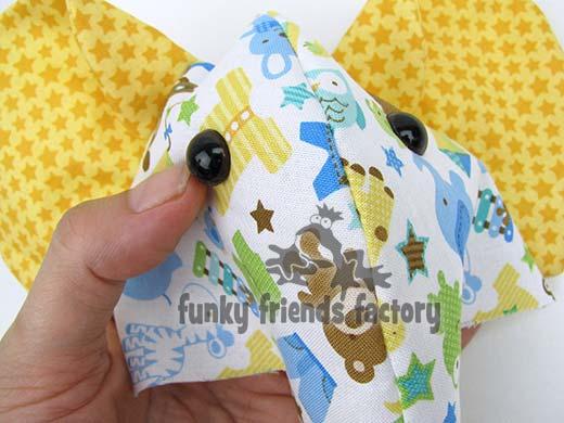 Elephant toy pattern design tutorial