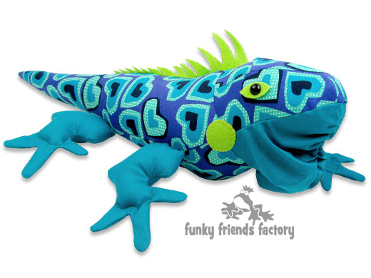 Lizard Toys For Boys : Sew a reptile toy