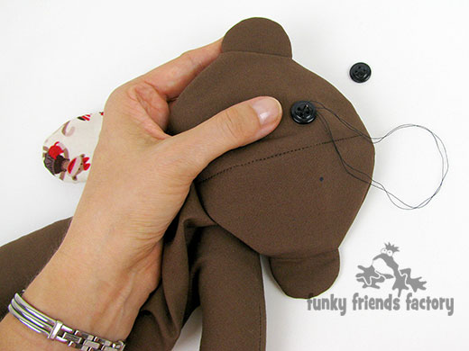 How to sew a NO SOCK Sock Monkey!