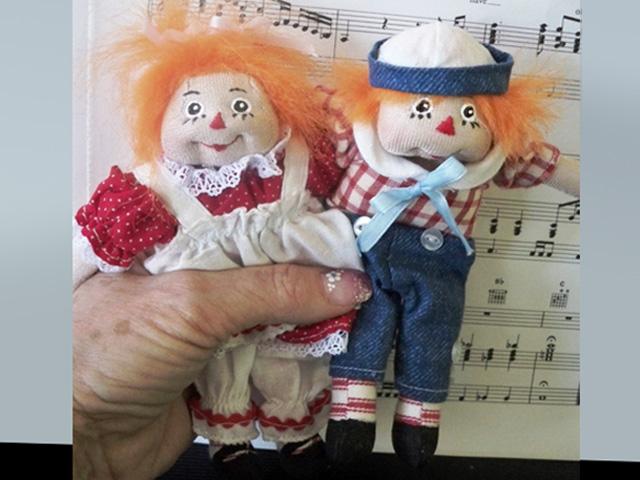 raggedy ann doll. Raggedy Ann amp; Andy 6quot; inch